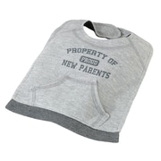 Lillian Rose™ Property Of Proud Parents Cotton Bib