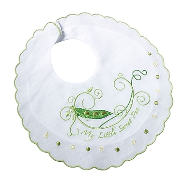 Lillian Rose™ Sweet Pea Cotton Baby Bib