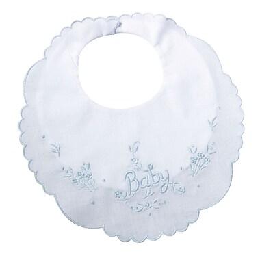 Lillian Rose™ Cotton Baby Bib, Blue