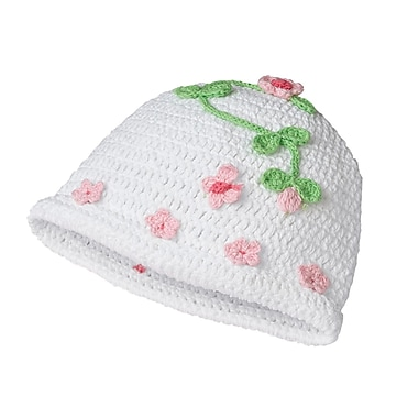 Lillian Rose™ Blessing Butterfly Crocheted Cotton Cap