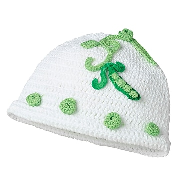 Lillian Rose™ Sweet Pea Crocheted Cotton Cap