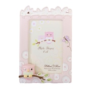 "Lillian Rose™ Baby Collection 4"" x 6"" Picture Frame, Pink Owl"