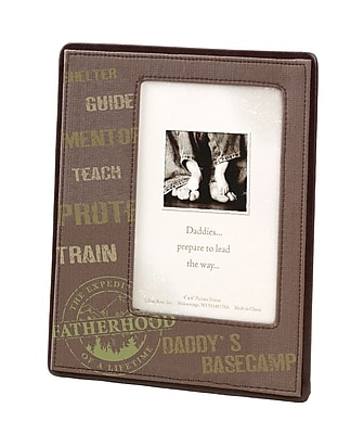 """""Lillian Rose Baby Collection 6 3/4"""""""" x 8 3/8"""""""" Outdoor Daddy Picture Frame"""""" 1173747"