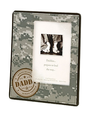 """""""""""Lillian Rose Baby Collection 6 3/4"""""""""""""""" x 8 3/8"""""""""""""""" Military Daddy Picture Frame"""""""""""" 1173746"""