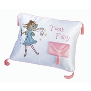 "Lillian Rose™ 11"" x 8"" Tooth Fairy Embroidered Pillow"
