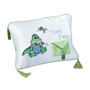 "Lillian Rose™ 11"" x 8"" Dinosaur Tooth Fairy Pillow"