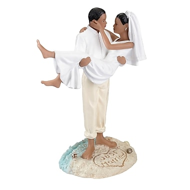 Lillian Rose™ Beach Couple Figurine, African - American