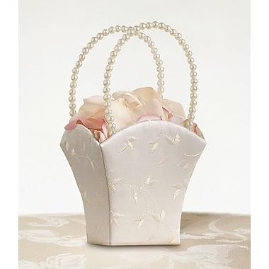 Lillian Rose™ Ivory Elegant Satin Flower Girl Baskets