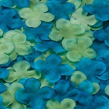 Lillian Rose™ Flower Petal, Blue/Green
