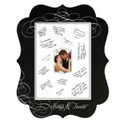 """Lillian Rose 3.5"""" x 5"""" Composite Wood Chalkboard Signing Frame (FR560)"""