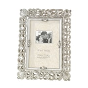 "Lillian Rose™ Gifts/Fun Stuff 6 1/4"" x 8 1/4"" Jeweled Picture Frame"