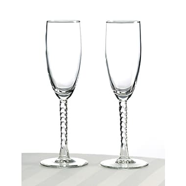 Lillian Rose™ Toasting Glasses, Clear, 2/Set