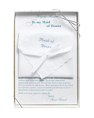 Lillian Rose Maid of Honor Hankie 1173446