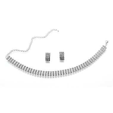 Lillian Rose™ Rhinestone Band Bridal Jewelry Set