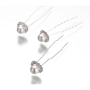 Lillian Rose™ Pearl/Rhinestone Hair Pin, 3/Set