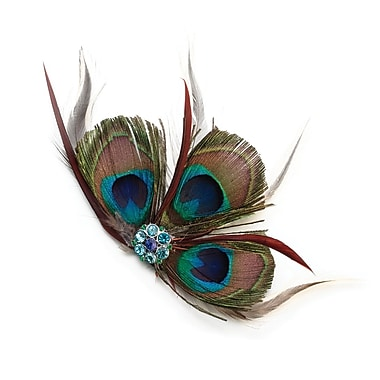 Lillian Rose™ Peacock Feather Hair Clip
