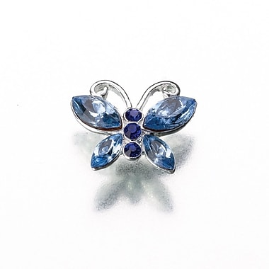 Lillian Rose™ Something Blue Butterfly Pin, Blue