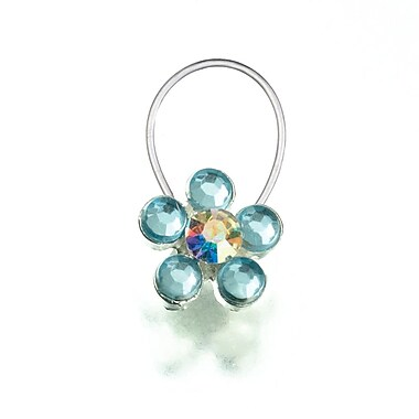 Lillian Rose™ Something Blue Toe Ring, Blue