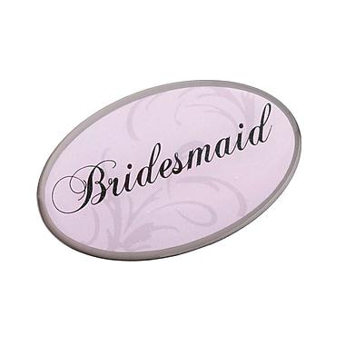 Lillian Rose™ Bridesmaid Oval Pin, Pink