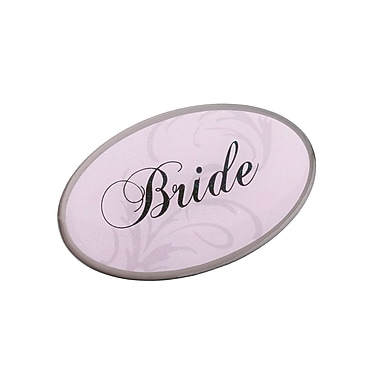 Lillian Rose™ Bride Oval Pin, Pink