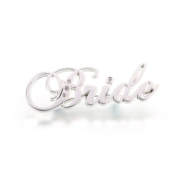 Lillian Rose™ Bride Rhinestone Pin, Silver