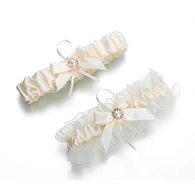 Lillian Rose™ Set Of 2 Pearl Garter, Ivory