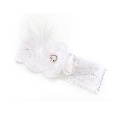 Lillian Rose™ Vintage Lace Wide Garter, White