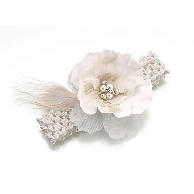 Lillian Rose™ Burlap & Lace Garter