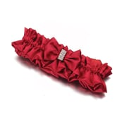 Lillian Rose™ Satin Garter, Diamond Red