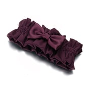 Lillian Rose™ Satin Garter, Plum