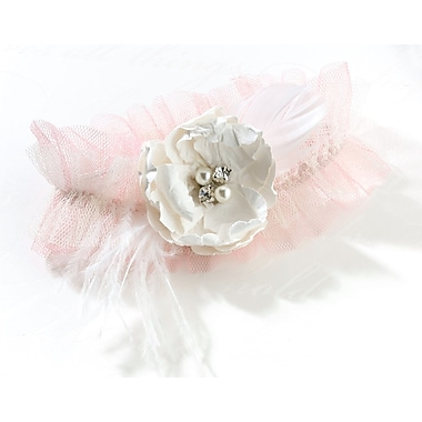 Lillian Rose™ Chic & Shabby Garter, Blush