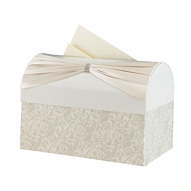Lillian Rose™ Wedding Reception Gift Card Box, Ivory