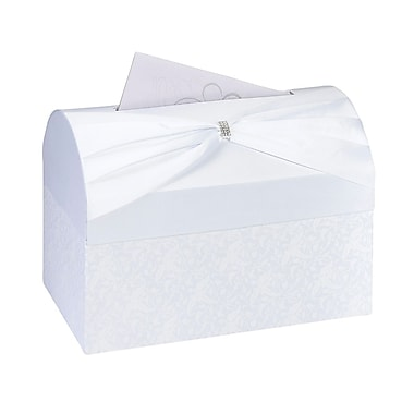 Lillian Rose™ Wedding Reception Gift Card Box, White