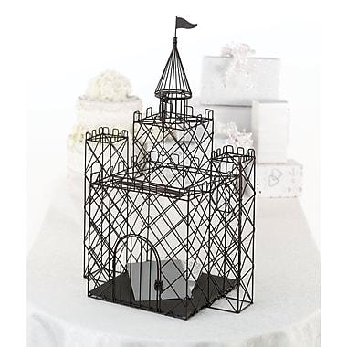 Lillian Rose™ Castle Card Box, Black