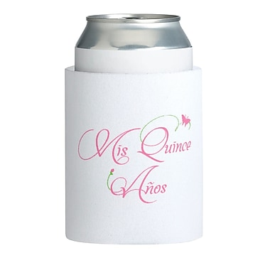 Lillian Rose™ Mis Quince Anos Cup Cozy, White