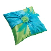 "Lillian Rose™ 7"" Ring Pillow, Blue/Green"