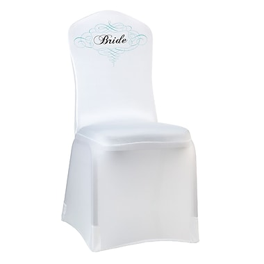 Lillian Rose™ Bride Chair Cover, White