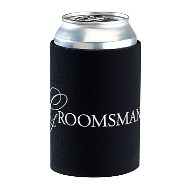 Lillian Rose™ Groomsman Cup Cozy, Black