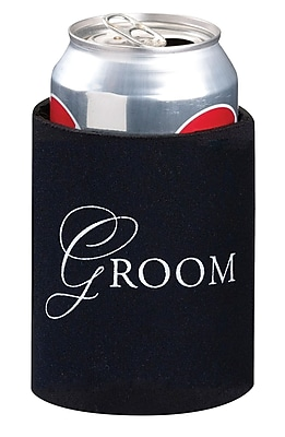 Lillian Rose Groom Cup Cozy Black