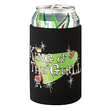 Lillian Rose™ King of The Grill Cup Cozy, Black