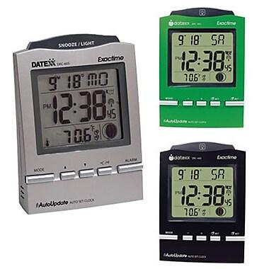 Datexx DRC-605X3 Digital Table Clock, Assorted