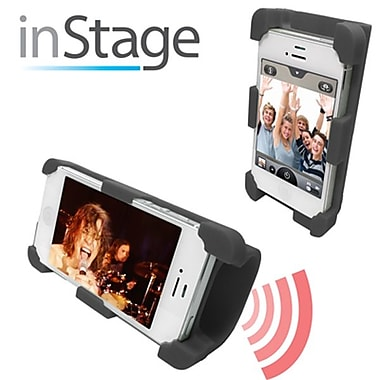 Datexx Instage Speaker Stand For iPhone 4 Series, Black