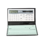 Datexx DB-403 Checkbook Calculator, White