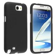 Insten® Snap-In Case For Samsung Galaxy Note 2 N7100, Black