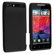 Insten® Skin Case For Motorola Droid RAZR XT910, Black