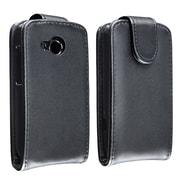 Insten® Flip Case For HTC Desire C, Black