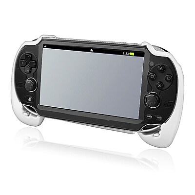 Insten gsonpspvgr01 Hand Grip For Sony PlayStation Vita White