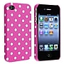 Insten® Snap-In Case For iPhone 4/4S, Pink With