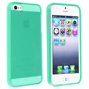 Insten® Skin Case For iPhone 5/5S, Clear Neon Green