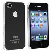 Insten® Snap-In Crystal Case For iPhone 4 - AT&T/Verizon, Clear Rear